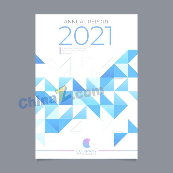 2021商务单页矢量素材