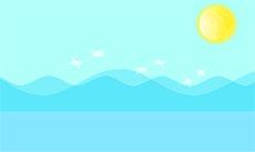 藍色水波紋flash動畫