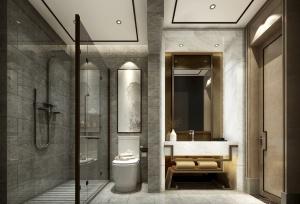 现代卫生间3D模型设计