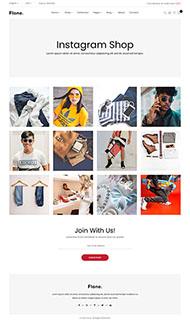 潮流時尚服裝商城HTML5模板