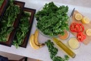自制绿色蔬菜沙拉图片