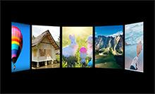 HTML5傳送帶視差圖片展示特效