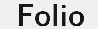 foliotee medi字體