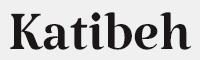 Katibeh-Regular字體