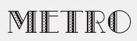 Metro-Retro-NF字體