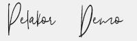 Pelakor-Demo字體