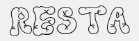 Resta字體