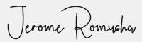 Jerome Romusha字體