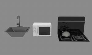 厨房用具3D模型设计