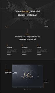 VI廣告設計公司網站模板