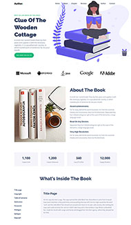 圖書出版發行公司網站模板