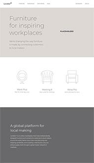 家具外觀專利展示網站模板