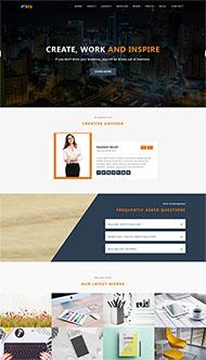 初創創業公司HTML網站模板