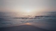 浩瀚大海日出圖片