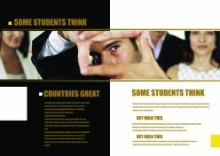 歐美英文版式畫冊PSD分層素材