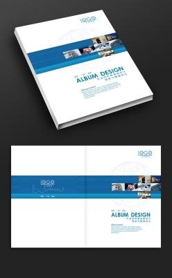藍色科技畫冊封面