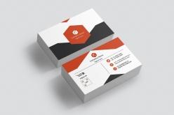 簡約企業名片模板