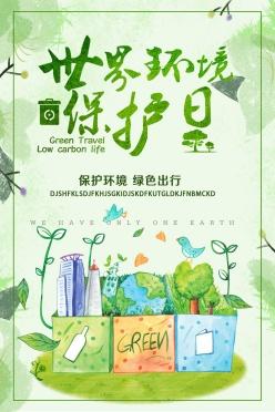世界環境保護日海報設計