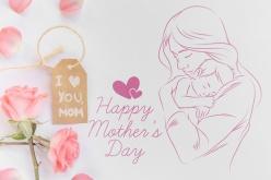 母亲节快乐PSD源文件素材